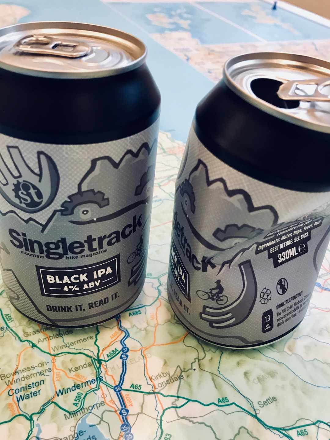 singletrack black ipa beer can merch shop membership