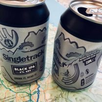 singletrack black ipa beer can merch shop