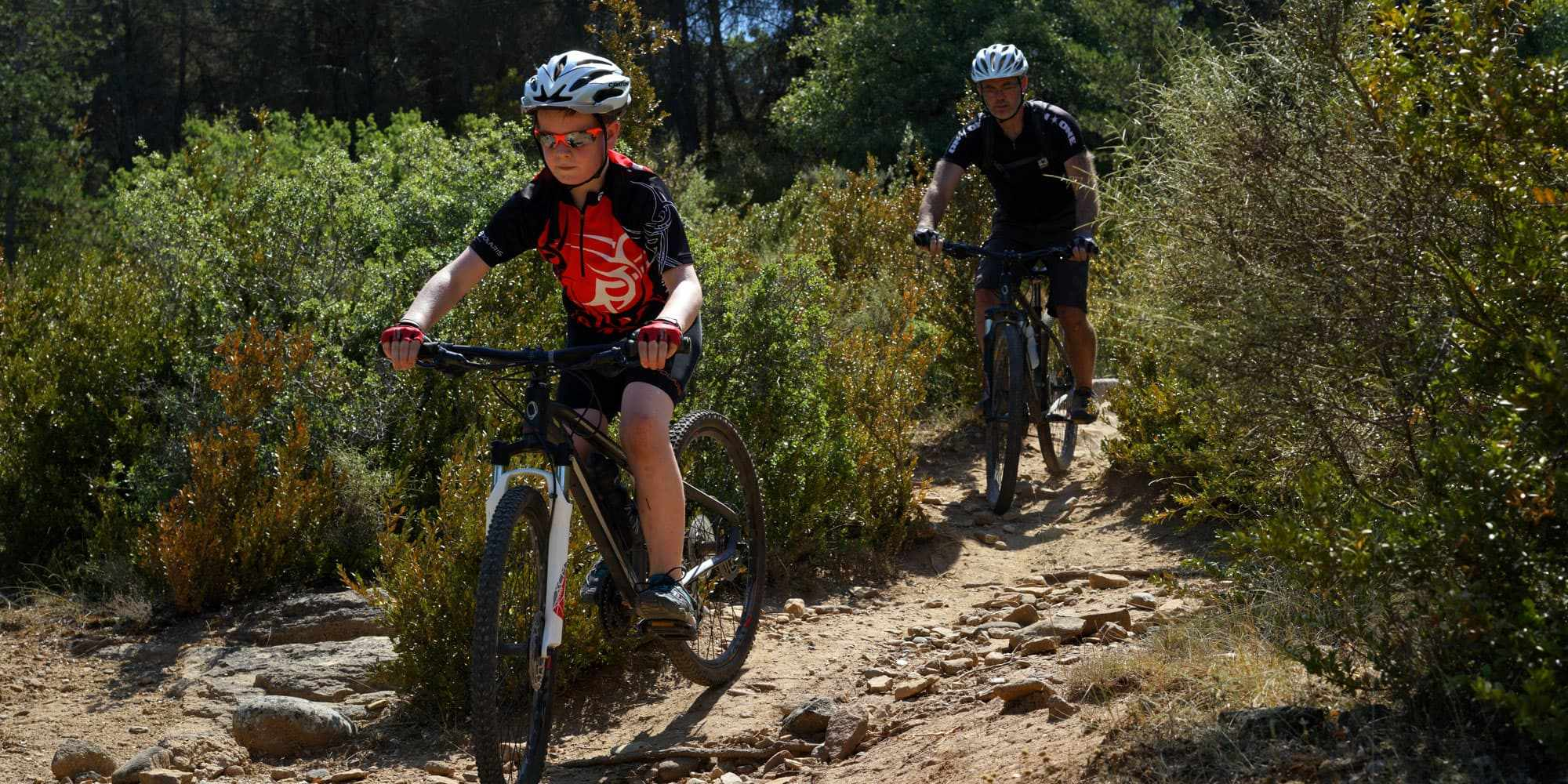 red rock trails family cycling mtb mountain bike