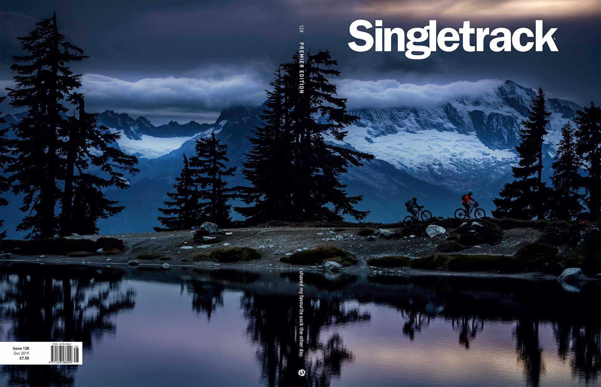 singletrack issue 128 cover landscape