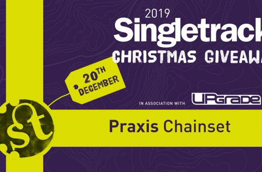 Day 17 of the Singletrack Christmas Countdown could bag you a Praxis Works Cadet chainset, BB and tool!