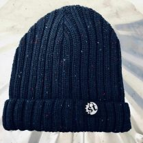 singletrack french navy beanie hat