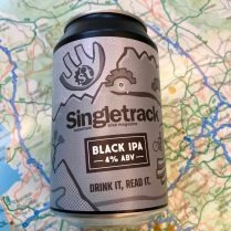 singletrack dark ipa beer