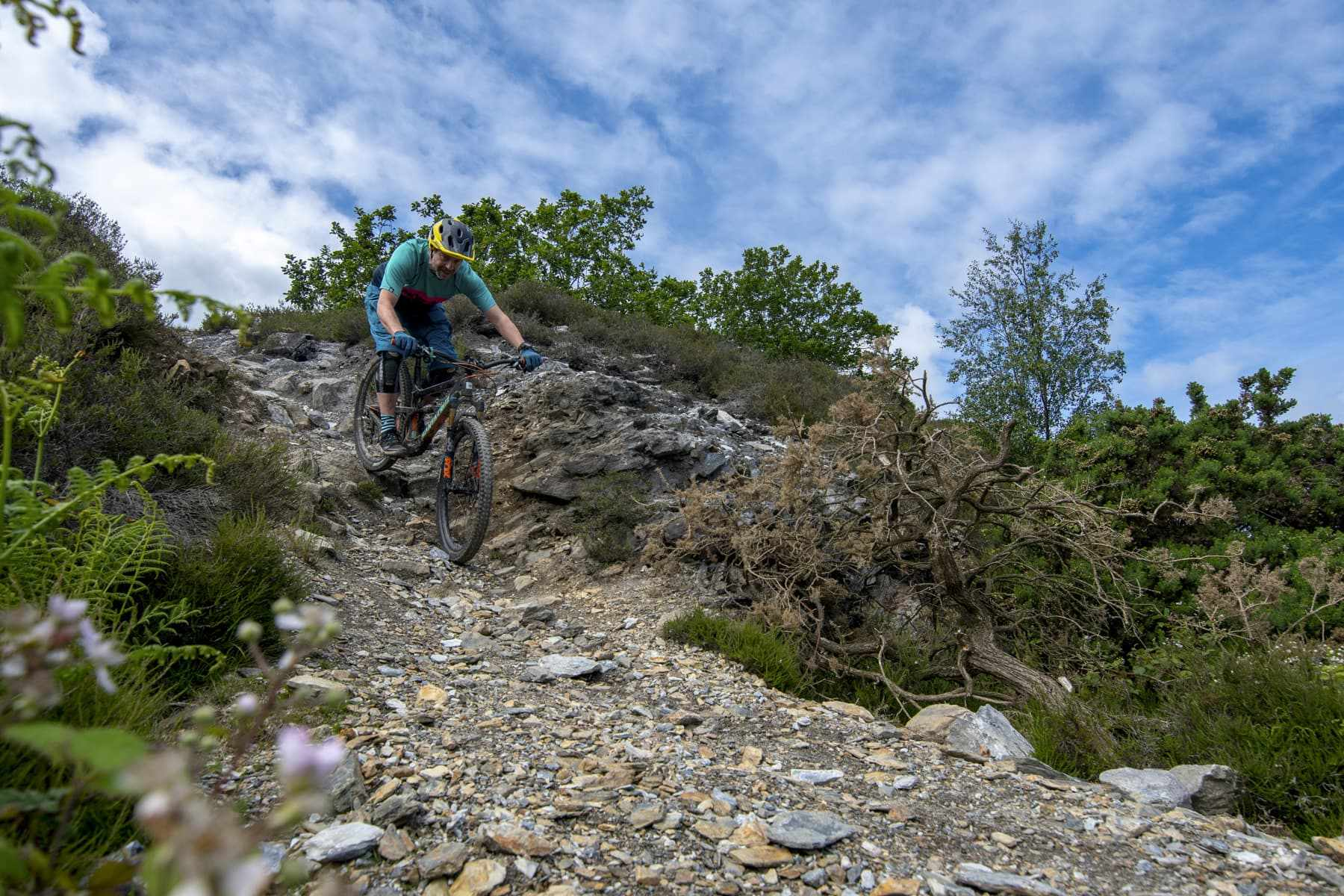 komoot singletrack classic ride cornwall issue 128