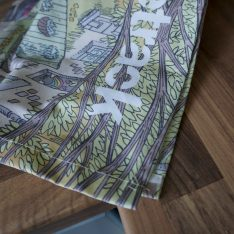 lockdown singletrack tea towel