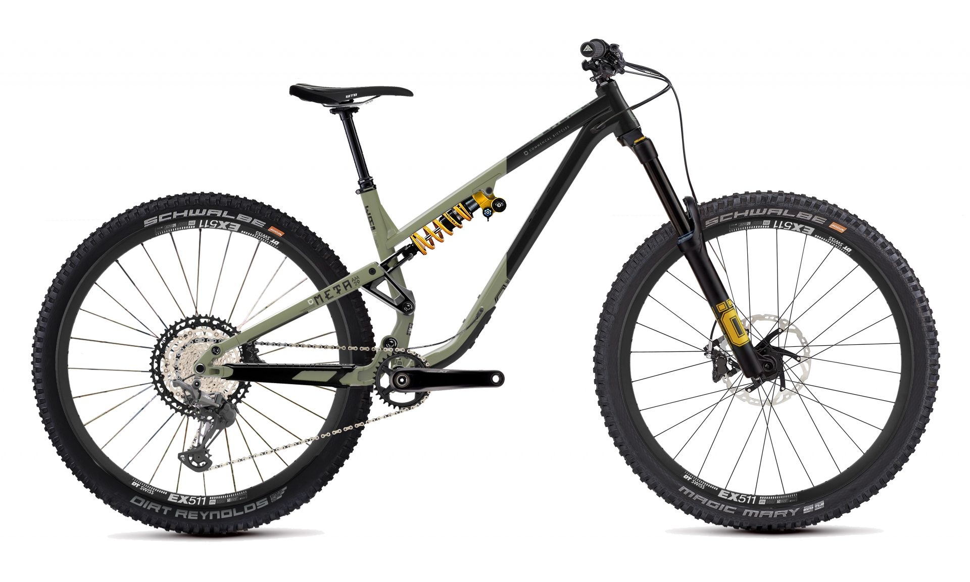 2021 Commencal Meta AM 29 Ohlins