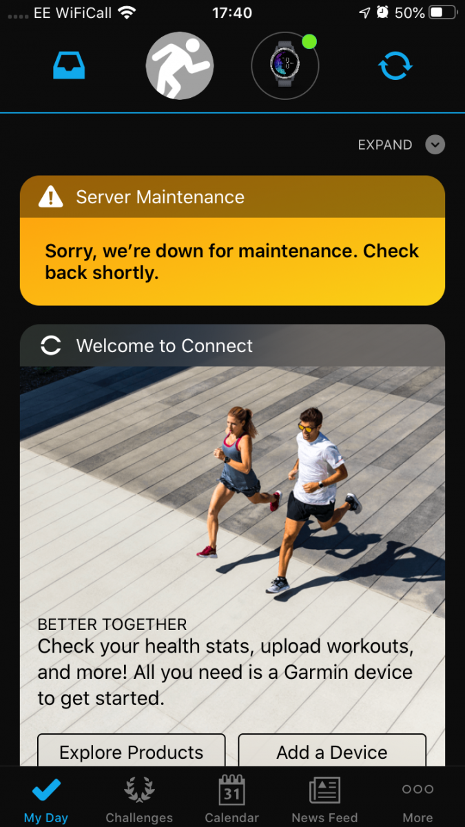 garmin down outage ransomware