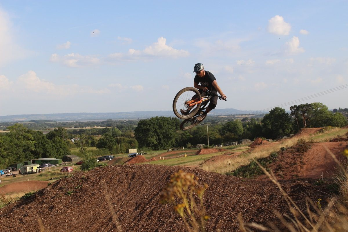Redhill Extreme dirt jumps