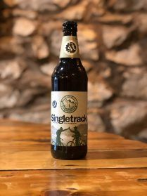 singletrack ale beer bottle