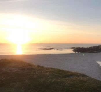 uist sunset hebrides