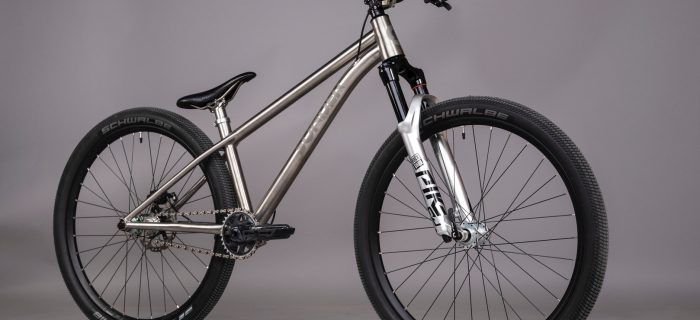 neil sutton sonder titanium dirt jump bike