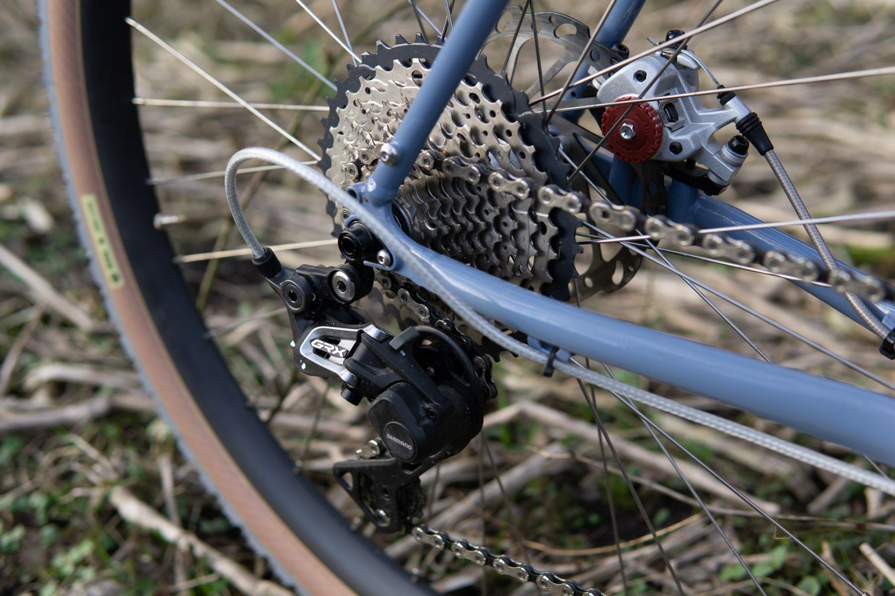 Singular Peregrine derailleur close-up