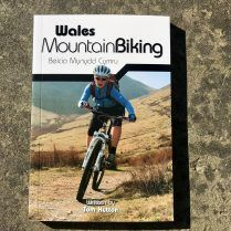 wales mtb guide book