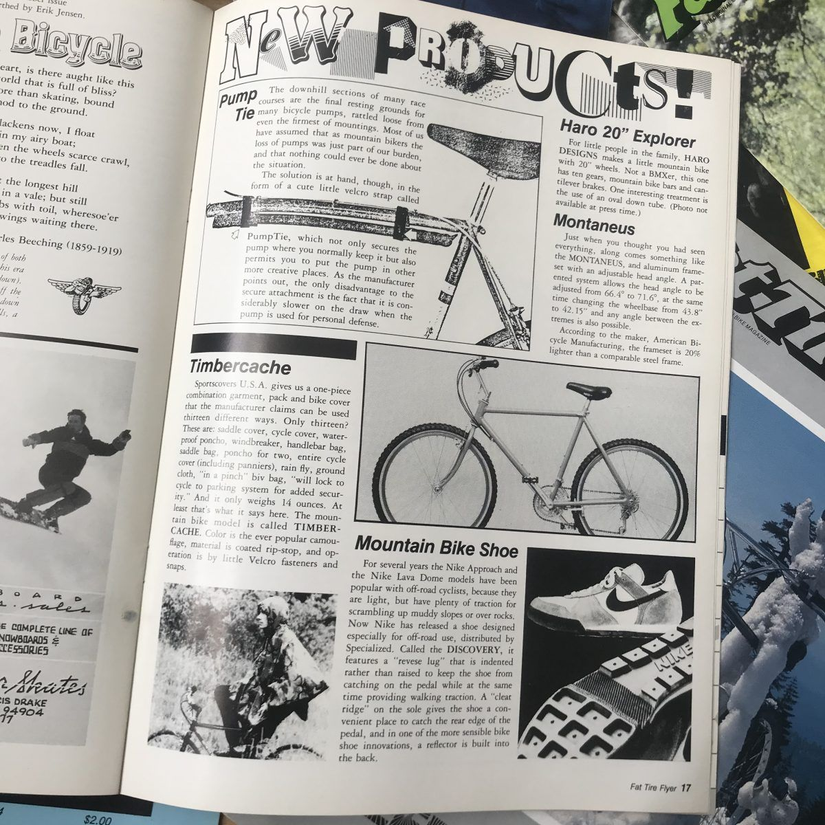 Fat Tire Flyer mag pages