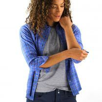 womens flannel MTB shirt