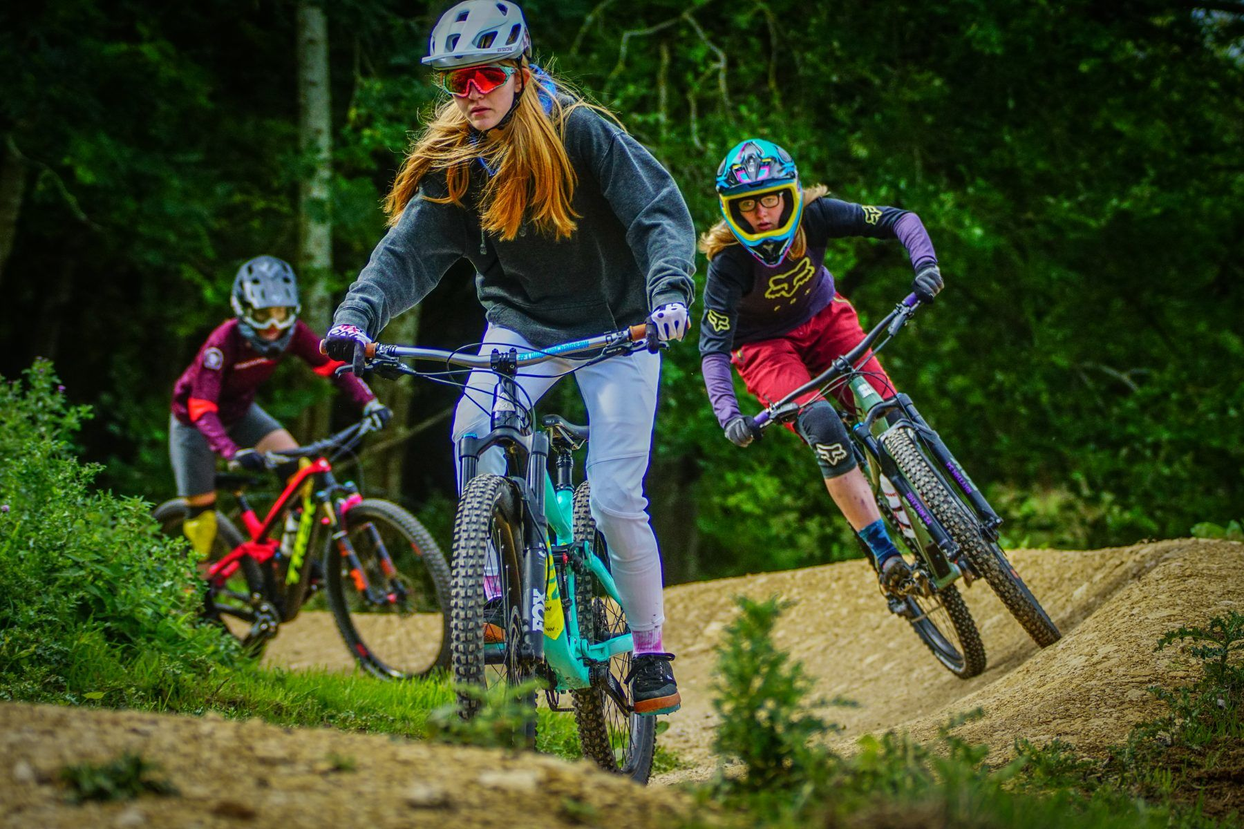 dirt sisters of shred ride day