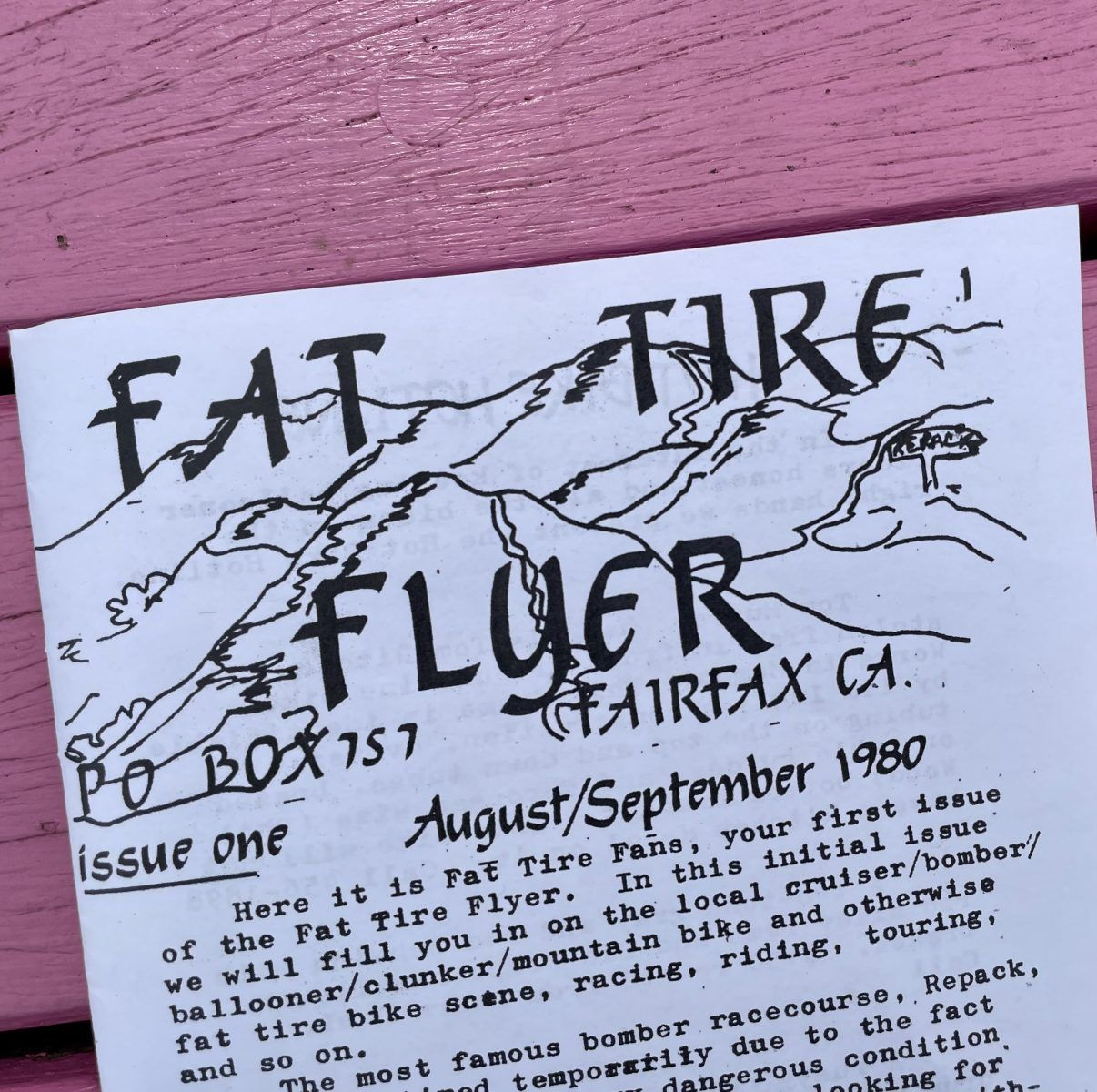 fat tire flyer issue 1