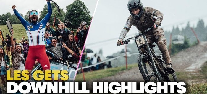 Final Highlights Les Gets DH World Cup 2021