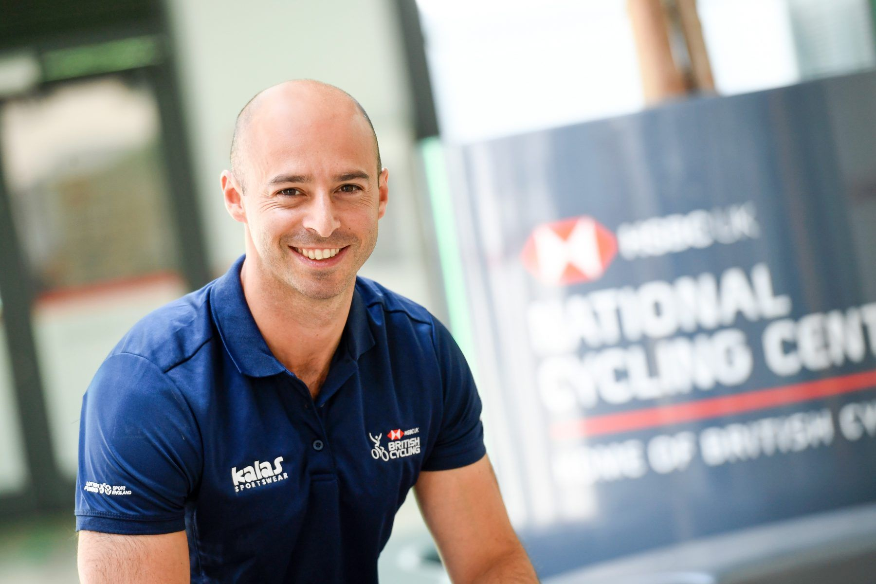 Darren Henry. British Cycling Commercial Director
