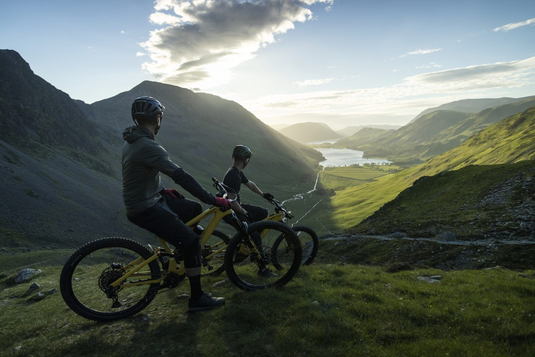 Specialized in the Lake district