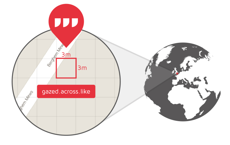 what3words app