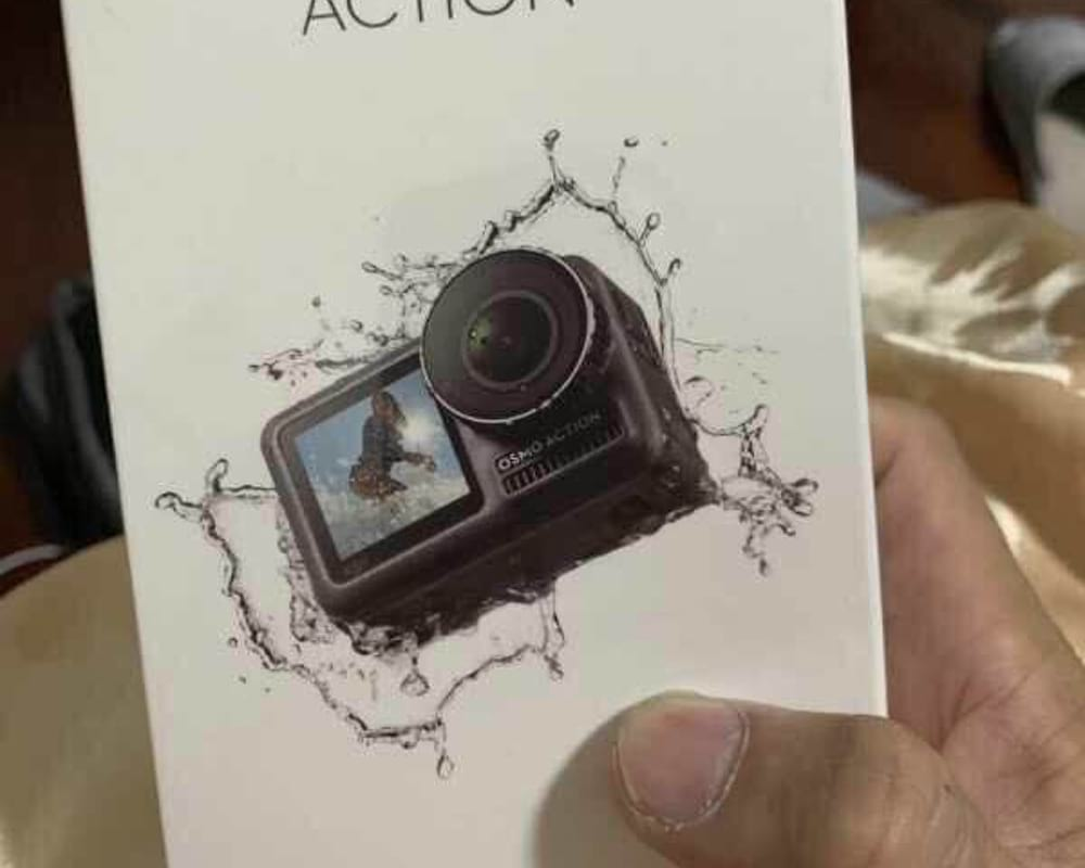 dji osmo action leak