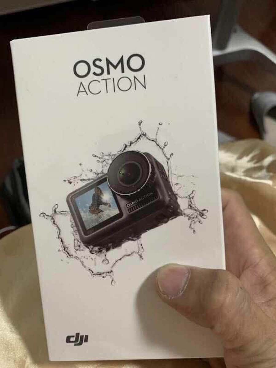 Dji osmo action camera packaging