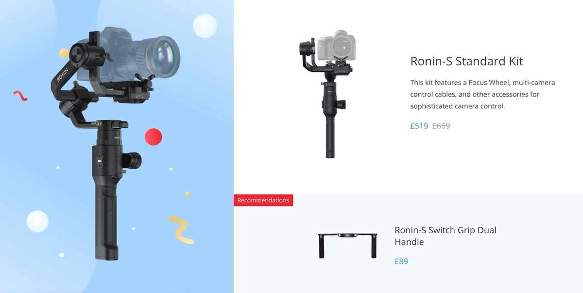 Keep your video silky smooth with the Ronin-S