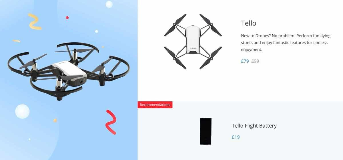 Start flying with the affordable DJI Tello drone