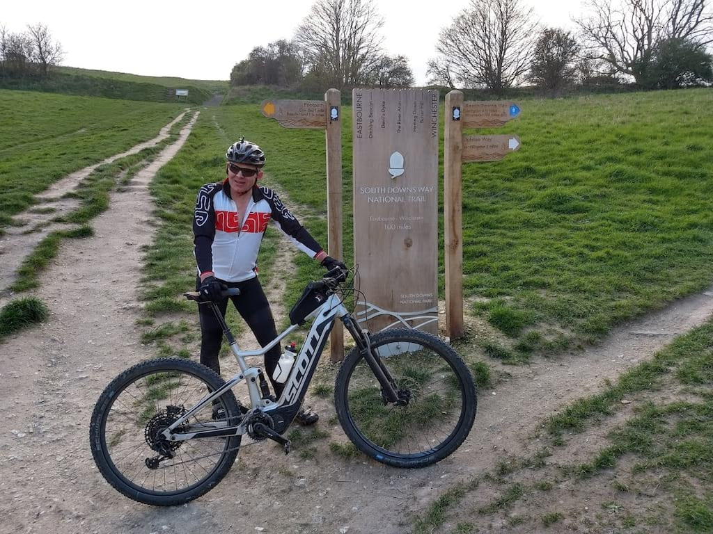 south downs way ebike