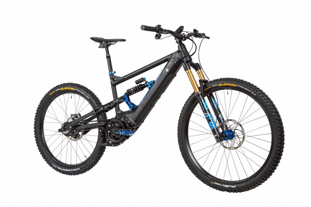 2020 version of the Nicolai G1 EBOXX e-MTB