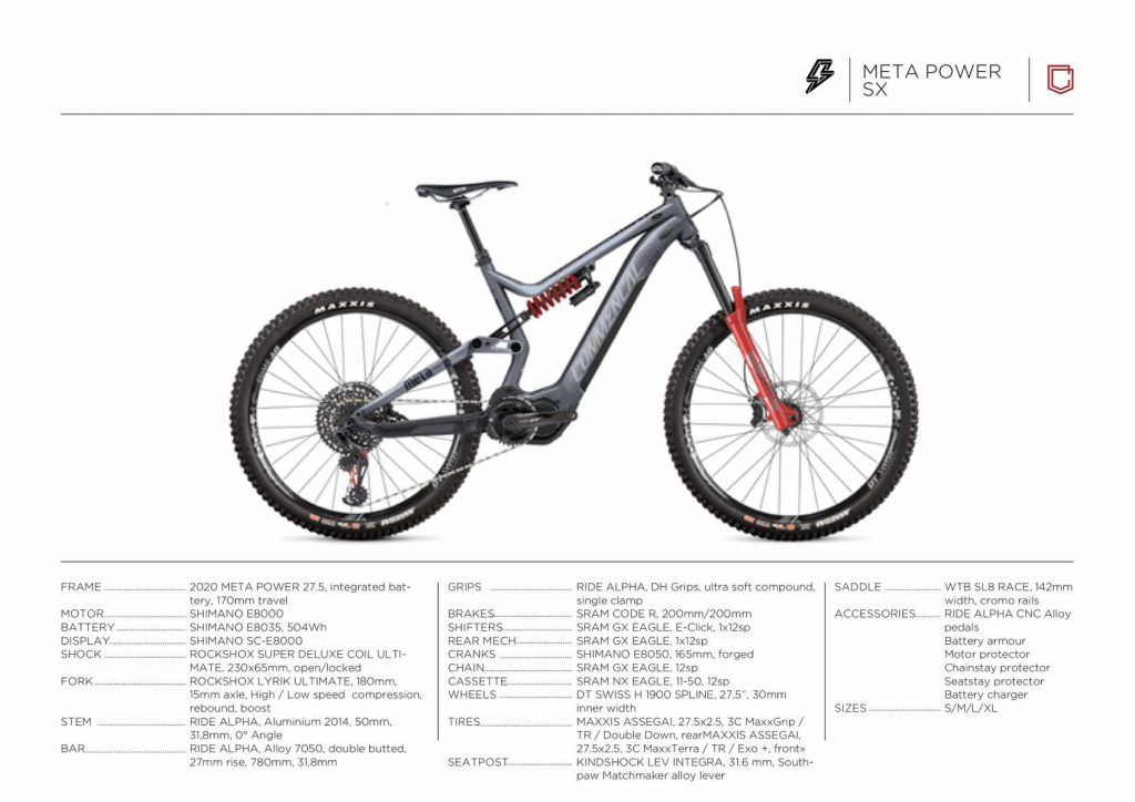 2020 Commencal Meta Power SX