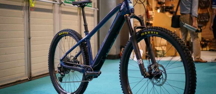 If you thought everything new was already seen at Eurobike, then think again! Kinesis has just launched a new e-MTB hardtail called the Rise at the NEC.