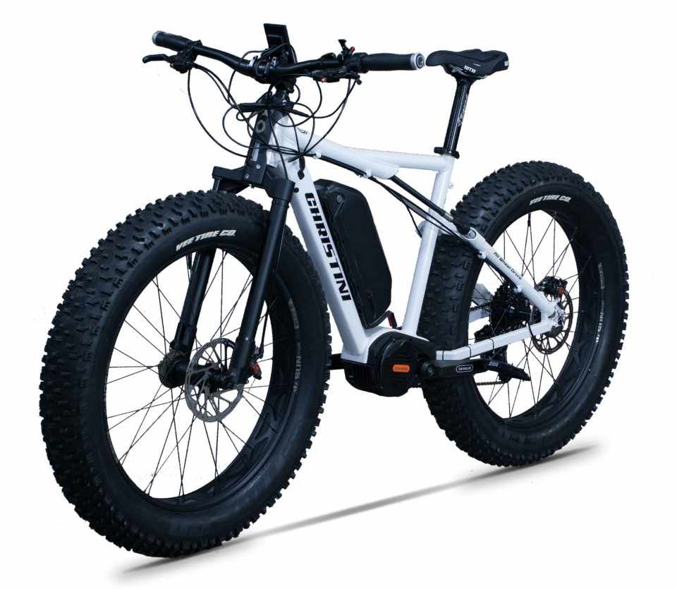 Meet the all-wheel drive, 68lbs Abominable e-fat bike!