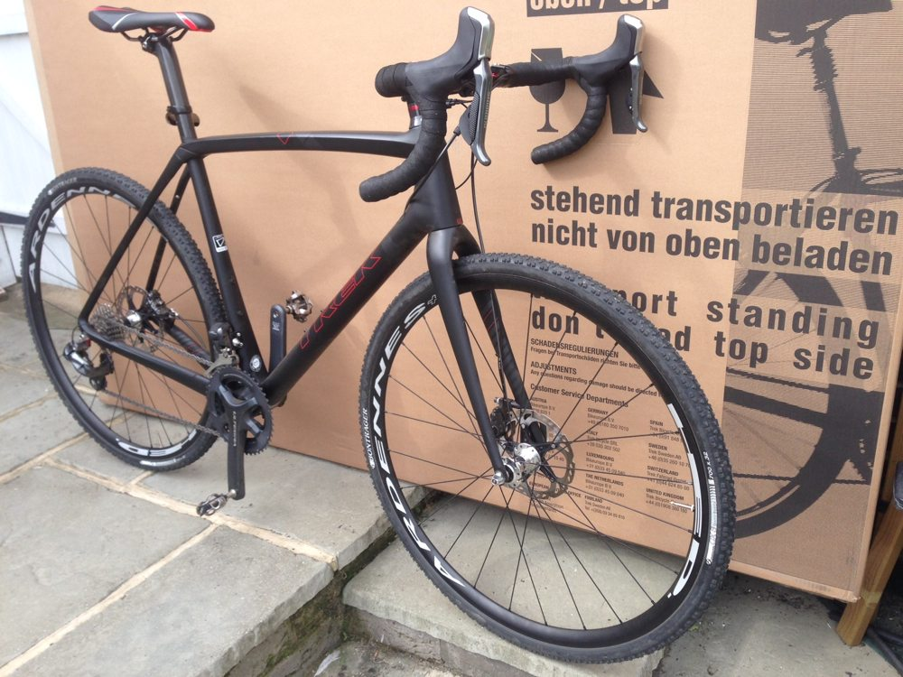 Trek Boone 9 arrives at grit.cx test HQ