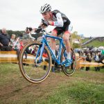 The 19 year old Mathieu van der Poel belongs to the U23 category, but he decided to race among the elite men for most of the season. After a win at Gieten last Sunday, he rode well and finished second, a few seconds behind Sven Nys.