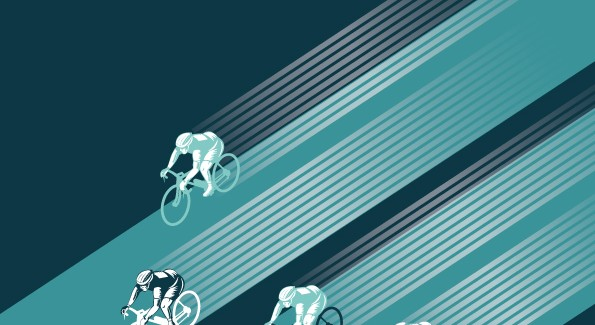 If Tron made cyclocross races…