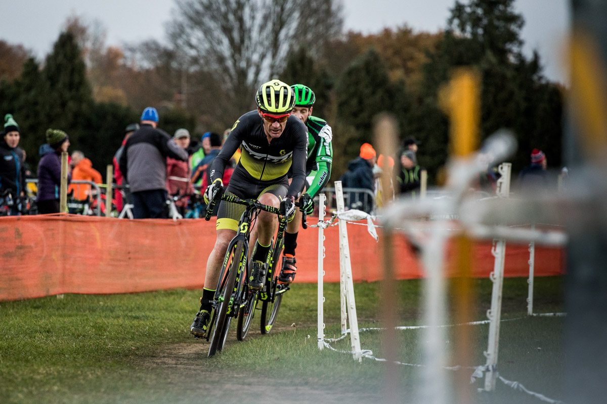 cyclocross race ipswich national trophy tape