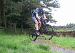 Gravel bikes can jump