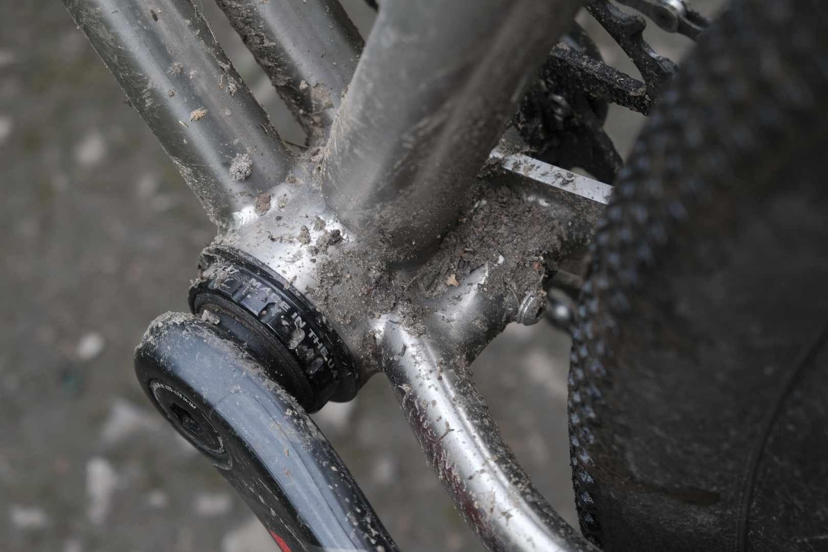 Spanner Bike Titanium Gravel Bike
