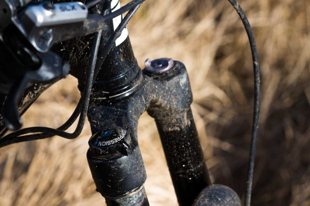 The lesser-spotted MRP Stage fork.