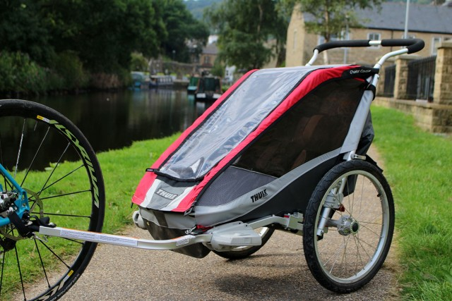 cougar one thule child carrier buggy
