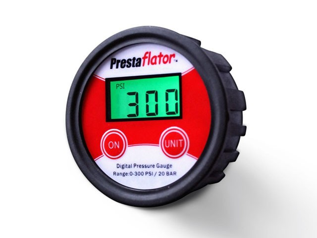 Prestaflator digital gage stock