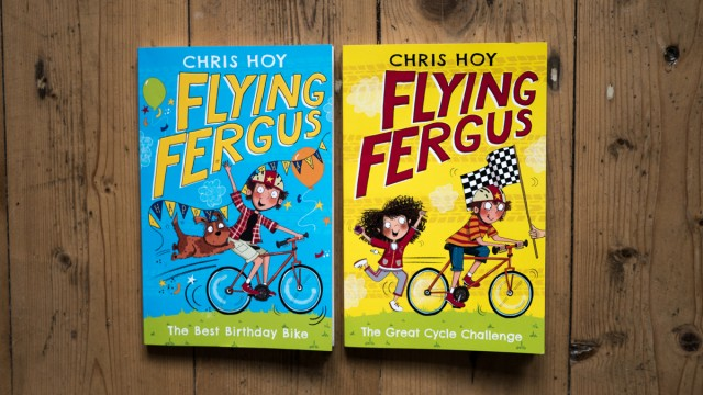 Flying Fergus Chris Hoy
