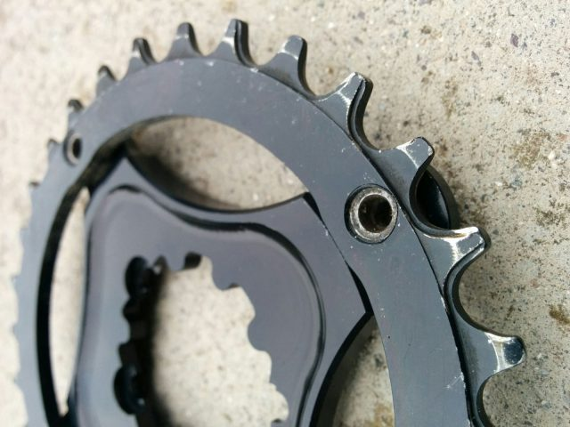 North Shore Billet Chain Rings and Spider