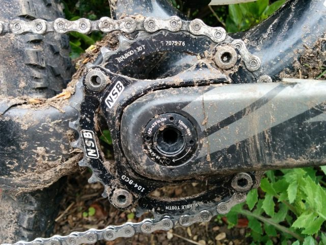 North Shore Billet Chainrings and Spider
