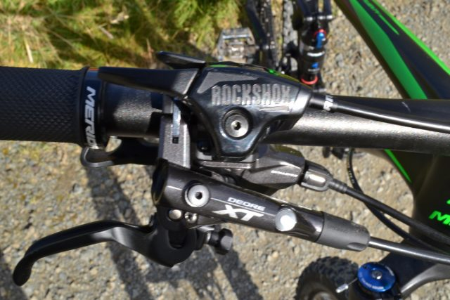 merida one twety 27.5 trail bike full suspension rockshox deore xt 2x11 remote lockout 120mm
