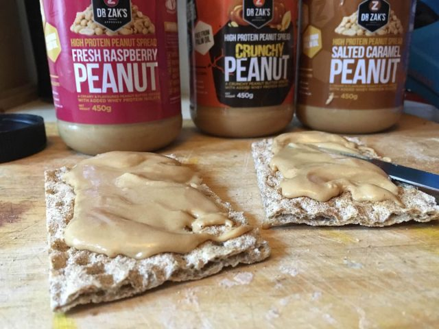 dr zaks recovery peanut butter sports nutrition protein smoothie drink cracker banana kitchen