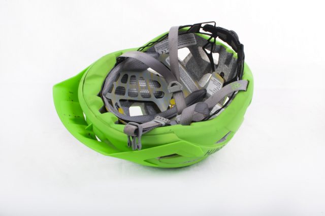 smith rover mips green helmet