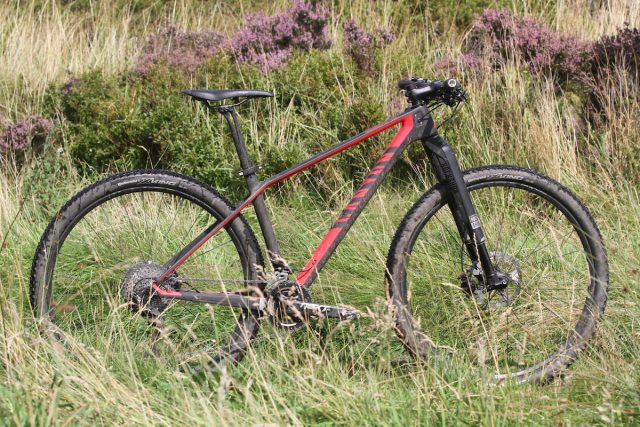 canyon exceed 9.9 carbon hardtail wil